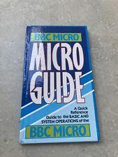 BBC Micro Guide Book User Manual Reference Acorn Computer