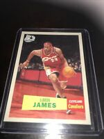 Topps 50th Anniversary Lebron James Base Cavs Lakers 2007