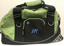"OGIO Half Dome Duffle Bag Gym Green Monogrammed ""M"" Sports Tote Travel"