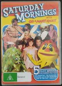 Saturday Mornings With Sid & Marty Krofft. Region 4 PAL DVD. Free postage!