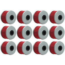 12pc Oil Filter Fit for Honda TRX 300EX 400EX 250X 420 450 500 Rancher Foreman