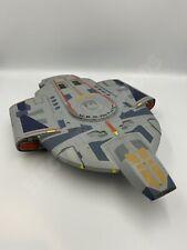 AMT ERTL STAR TREK DEEP SPACE NINE USS DEFIANT NX-74205 BORG CUBE DAMAGE 1996