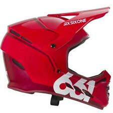 Sixsixone 661 Reset Fullface Full Face DH Downhill MTB Bike Helmet Red Large