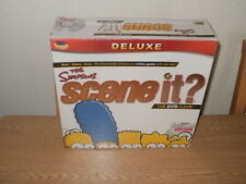 Simpsons Scene It? DVD Board Game **NEW & SEALED**
