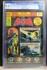 DC BATMAN 100 PAGE SUPER SPECTACULAR #20 1973 CGC 9.0  8017