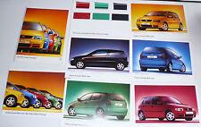 Prospekt Volkswagen VW Polo Colour Concept, 9.1996, 4 + 6 x 2 Seiten in Mappe