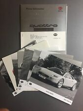1992 Audi Quattro Spyder Concept Press Kit & Photos RARE!! Awesome L@@K