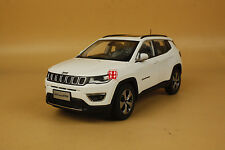 1/18 new Jeep Compass Limited white color + gift