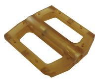 Premium Plastic Slim Sealed Replacement Bike BMX Pedals Gold