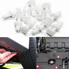 For Chevrolet Ford Car Body Push Retainer Pin Rivet Trim Clip 6mm 30Pcs