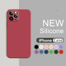 Case For iPhone 12 mini 12 Pro Max 11 XS XR 8 7 SE 2nd Shockproof Silicone Cover