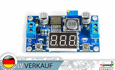 Spannungsregler DC-DC incl Voltmeter LM2596S von3,2-40V nach1,25-35V Arduino BEC