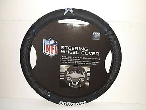 Dallas Cowboys NFL Embroidered Steering Wheel Cover