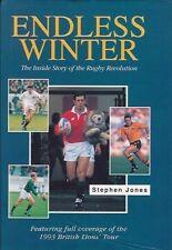 STEPHEN JONES LIONS TOUR of NEW ZEALAND 1993 RUGBY BOOK ENDLESS WINTER