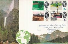 More details for 1  july 1964 geographical congress phosphor gpo first day cover glasgow fdi