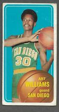 ** 1970-71 Topps NBA Art Williams #151 (GOOD) Nice Old basketball Card ** P1887
