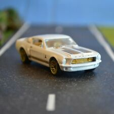 HOT WHEELS 1968 SHELBY GT500 WHITE/GOLD