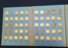 1916-1945 PDS Mercury Silver Dime Near Complete set 68 of 77 Coins E4509