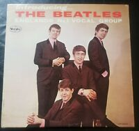 """THE BEATLES, """"INTRODUCING""""  AD BACK MONO MINT - VERY RARE!"""