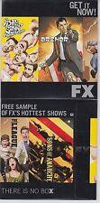 2015 SDCC WONDERCON FOX FX SAMPLE PROMO DVD ARCHER SONS OF ANARCHY PHILADELPHIA
