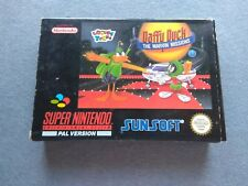 DAFFY DUCK THE MARVIN MISSIONS SNES SUPER NINTENDO NES