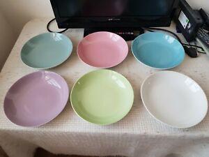 6 x Lilienporzellan Suppenteller  gut erhalten