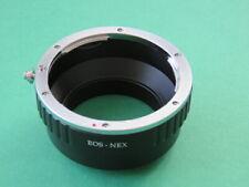 EOS-NEX Adaptateur Bague pour objectif Canon EOS pour Sony Alpha E Mount Appareil Photo a7, a7R, a7S