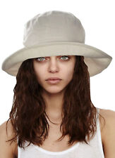 861120600 Wide Brim 100% Cotton Hats for Women for sale | eBay