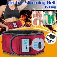 Electric Vibration Waist Massage Slimming Belt Exercise Weight Loss Body Fat ❤