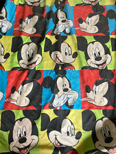 ~Twin Disney Mickey Mouse duvet comforter cover bedding