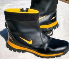Nike Youth/ Ladies Watershield Ankle Zip Black/ Yellow Boots Size 6Y L8