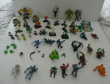 Raro BEN 10 OMNITRIX ALIEN CREATION figuras Bundle-lotes raros