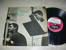 """10"""" CHET BAKER sings *UK PACIFIC JAZZ VOGUE SPINDLE DEEPGROOVE*L.D.E.182*"""
