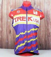 VTG Trek USA Mens Large Cycling Sleeve Shirt Jacket Riding Biking L Biking