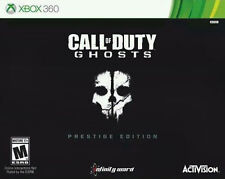 Call of Duty:Ghosts Prestige Edition  (Xbox 360, 2013)comes with tracking and pr