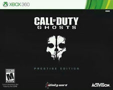 Call of Duty:Ghosts Prestige Edition w/Camera Xbox 360 Steelbook Limited Edition