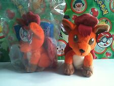 Pokemon Plush Vulpix KFC Special Edition 1998 doll stuffed figure New in Bag Toy