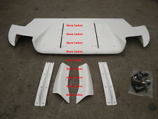 FRP Rear Diffuser Under VRS Style Unpainted For Lancer EVO 9 Fit JDM