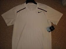 NWT Nike Nadal Wimbledon 2012 Finals Lawn Tennis Crew Shirt 446921-100 Federer M
