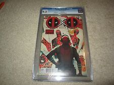 DEADPOOL KILLS DEADPOOL #1 SUPER RARE NEWSTAND ERROR  VERSION CGC 9.2