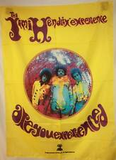 Rare Jimi Hendrix Are You Experienced? Cloth Fabric Poster Flag Tapestry-New!