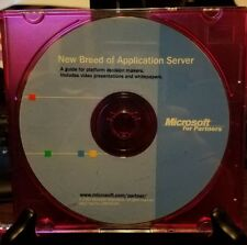 Pre-owned ~ Microsoft for Partners New Breed of Application Server CD-ROM