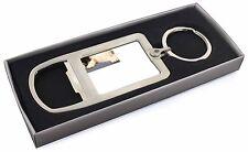 Border Collies Chrome Metal Bottle Opener Keyring in Box Gift Mans, AD-CO2MBO