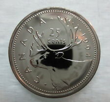 1994 CANADA 25 CENTS PROOF-LIKE QUARTER COIN