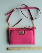 Women's JUICY Couture Purse Hand Bag Tote  Bright Hot PINK  Cross Body Style