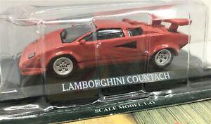 Delprado Collection* Lamborghini Countach With Info Sheet*  In Case ** 1:43