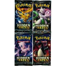 Hidden Fates Booster Pack Sealed Official Pokemon Cards * New *