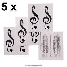 10 Violin Schlüssel Tattoo - Violinschlüssel - Notenschlüssel Tattoos