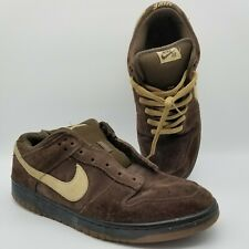 Nike Dunk Low Pro Sb Dark Mocha Tweed 2007 Size 11 304292-229 Travis 2006