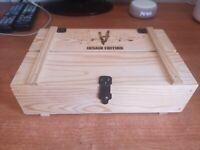 Insane edition very rare wooden box cofanetto legno edition